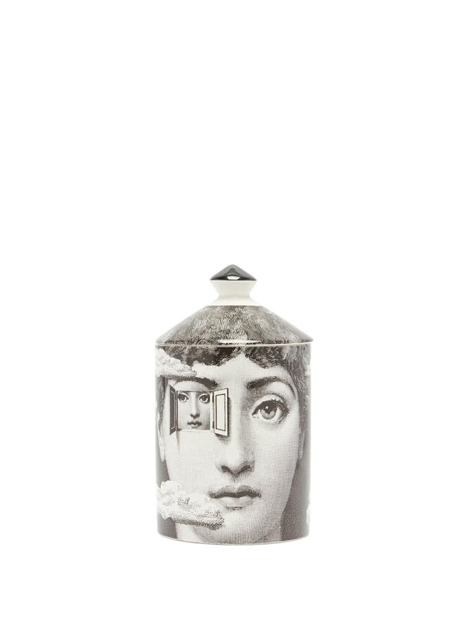 """Fornasetti Metafisica Otto-scented candle, $270, [MatchesFashion](https://www.matchesfashion.com/au/products/Fornasetti-Metafisica-Otto-scented-candle-1311609 target=""""_blank"""") <br><br> If in doubt, you cannot, we repeat, *cannot* go wrong with an effervescent scented candle. these cheeky Fornasetti candles go the extra mile when it comes to home fragrance and classic designs that scream precious."""