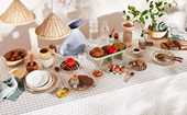 How to create an edible tablescape