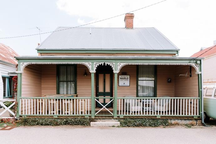 Ned Kelly's Marlo Cottage in Beechworth.