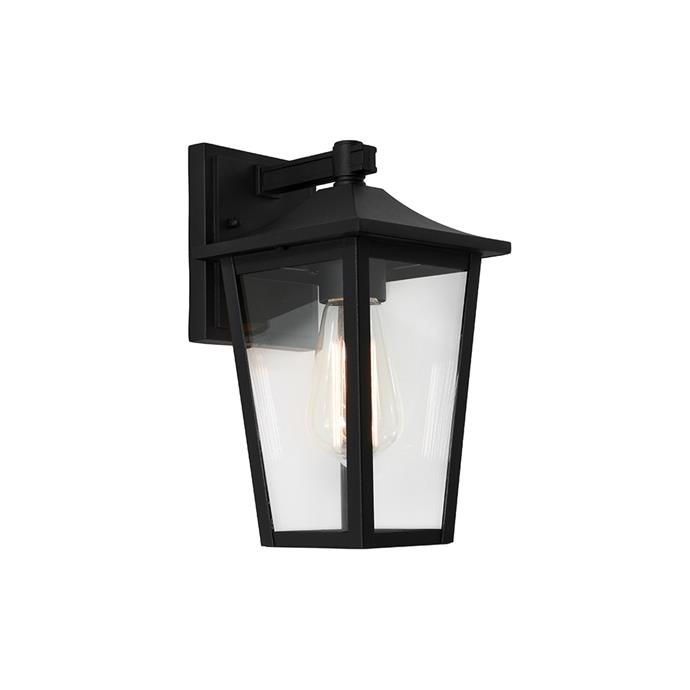 """**York Commercial Grade IP43 Exterior Wall Lantern, $105, [LivingStyles](https://www.livingstyles.com.au/york-commercial-grade-ip43-exterior-wall-lantern-black/