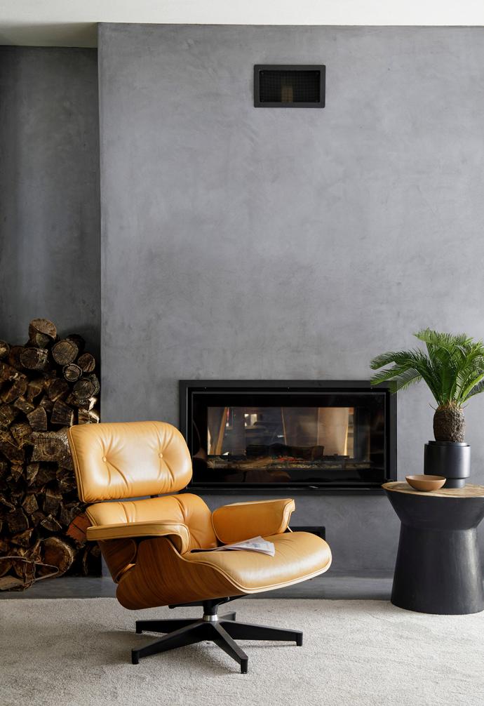 "A replica Eames chair from Matt Blatt sits invitingly in the [living room](https://www.homestolove.com.au/living-room-essentials-3466|target=""_blank"")."