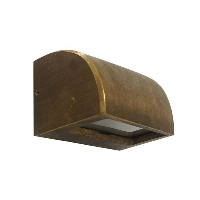 """**CLA Lighting Bronze Step Light, $189, [Temple & Webster](https://www.templeandwebster.com.au/Bronze-11.5cm-Curved-Step-Light-STE12-CLAL2942.html