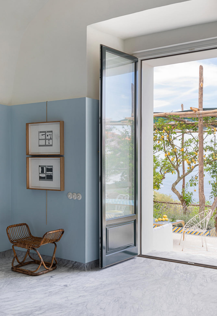 """Massimo resurrected the half-collapsed pergola and sunburnt lemon trees as part of the renovation. Club Med The home's [Mediterranean-inspired](https://www.homestolove.com.au/modern-mediterranean-style-4700