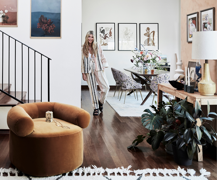 """""""I never create something that I wouldn't personally wear or style in my home,"""" says Ana, pictured in her [living room](https://www.homestolove.com.au/living-room-essentials-3466