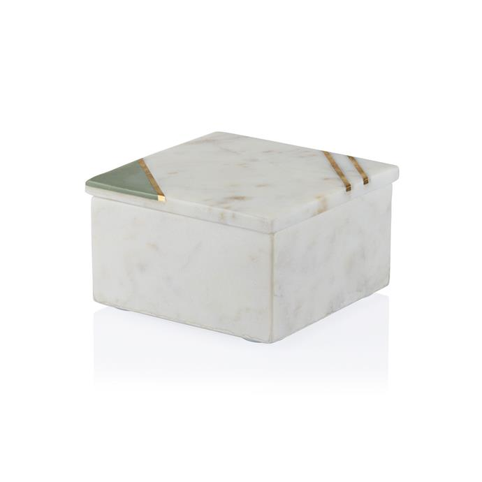 """Athena Marble Box, $95, [Coco Republic](https://www.cocorepublic.com.au/athena-marble-box-9398
