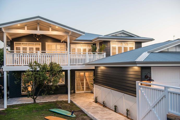 Kyal and Kara's former home in Toowoon Bay is now a holiday rental.