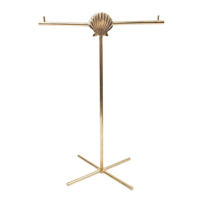 """À LA Shell Jewellery Stand, $87, [Amara](https://www.amara.com/au/products/shell-jewellery-stand