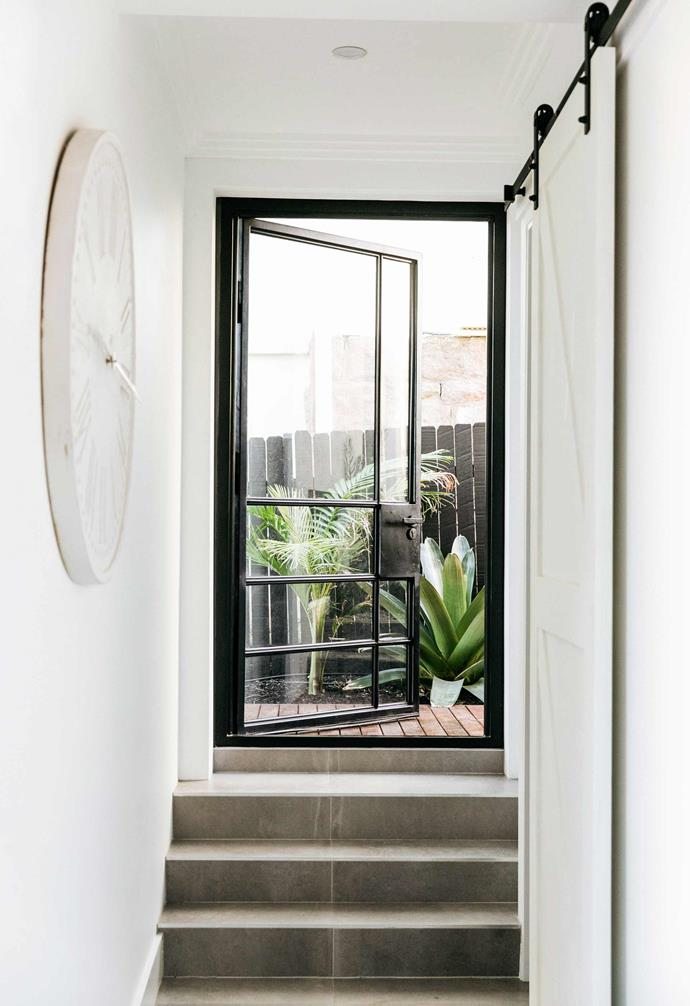"""**Side entry** [Steel-framed doors](https://www.homestolove.com.au/steel-frame-doors-20439