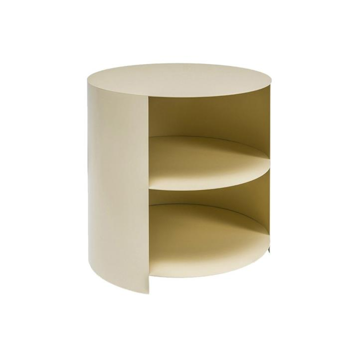 "**Hem hide side table, $474, [Finnish Design Shop](https://www.finnishdesignshop.com/furniture-storage-furniture-storage-units-hide-side-table-ivory-p-31325.html|target=""_blank""