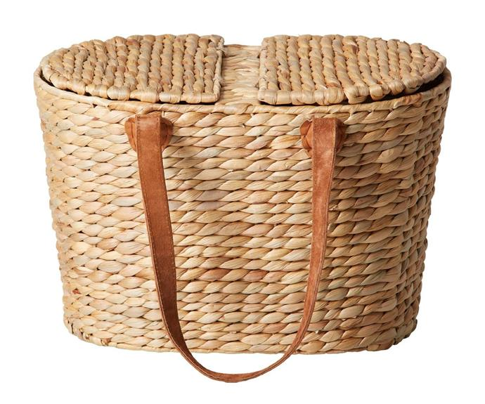 """<P>**Salisbury & Co Province Picnic Basket, $59.95, [Dick Smith.](https://www.dicksmith.com.au/da/buy/kitchenwholesale-salisbury-co-province-picnic-basket-40x26x26cm-417220/