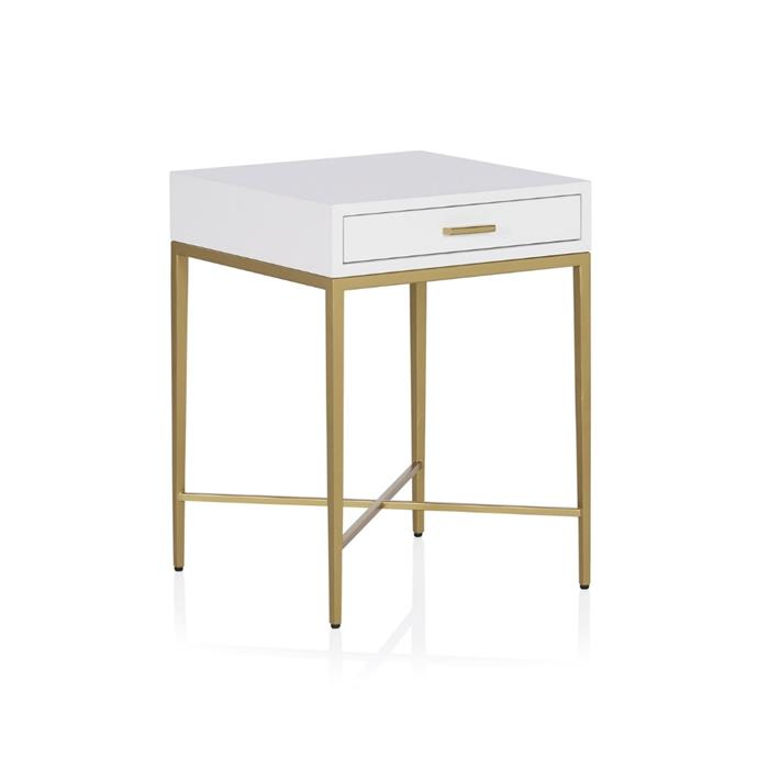 "**Estelle bedside table, $995, [Coco Republic](https://www.cocorepublic.com.au/estelle-bedside-table?m=simple|target=""_blank""