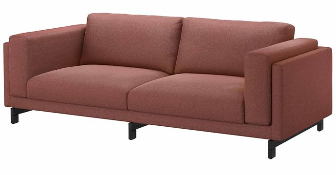 """**NOCKEBY 3-Seater Sofa, $999, [IKEA](https://www.ikea.com/au/en/p/nockeby-three-seat-sofa-tallmyra-rust-wood-s59150511/