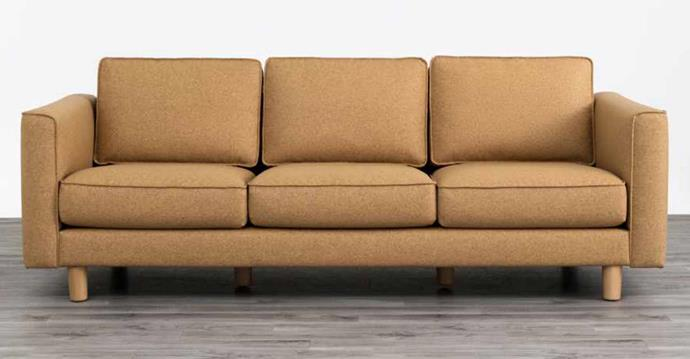 """**Cork Sofa in Yarra Cork, $2300, [Koala](https://au.koala.com/products/cork-sofa