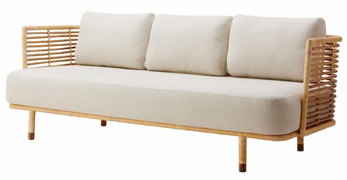 """**Sense 3-Seater Sofa, from $5330, [Trit House](https://www.trithouse.com.au/brands/cane-line/sense-3-seater-sofa
