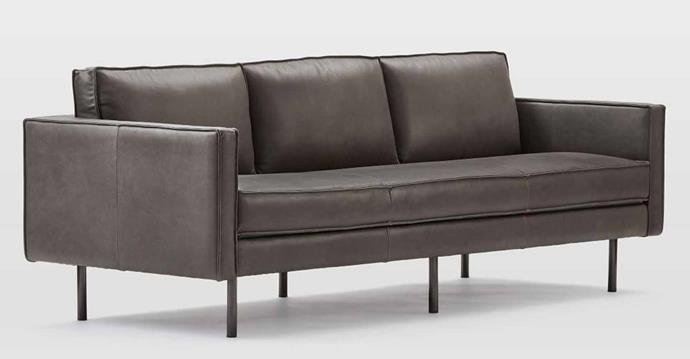 """**Axel Leather Sofa in Fog, $3999, [West Elm](https://www.westelm.com.au/axel-leather-sofa-h1465