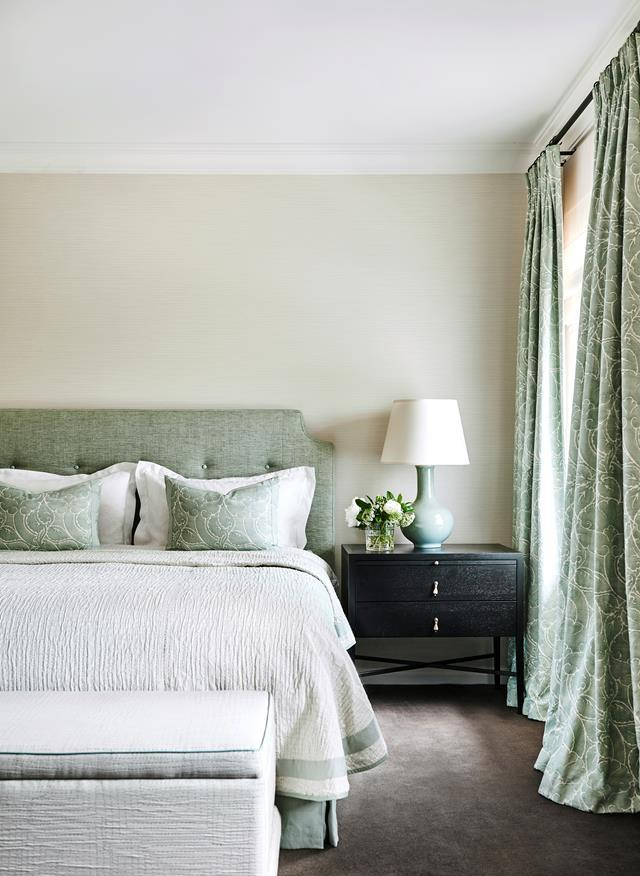 Opt for ottomans with storage and place at the foot of your bed for a stylish way to add another  surface.