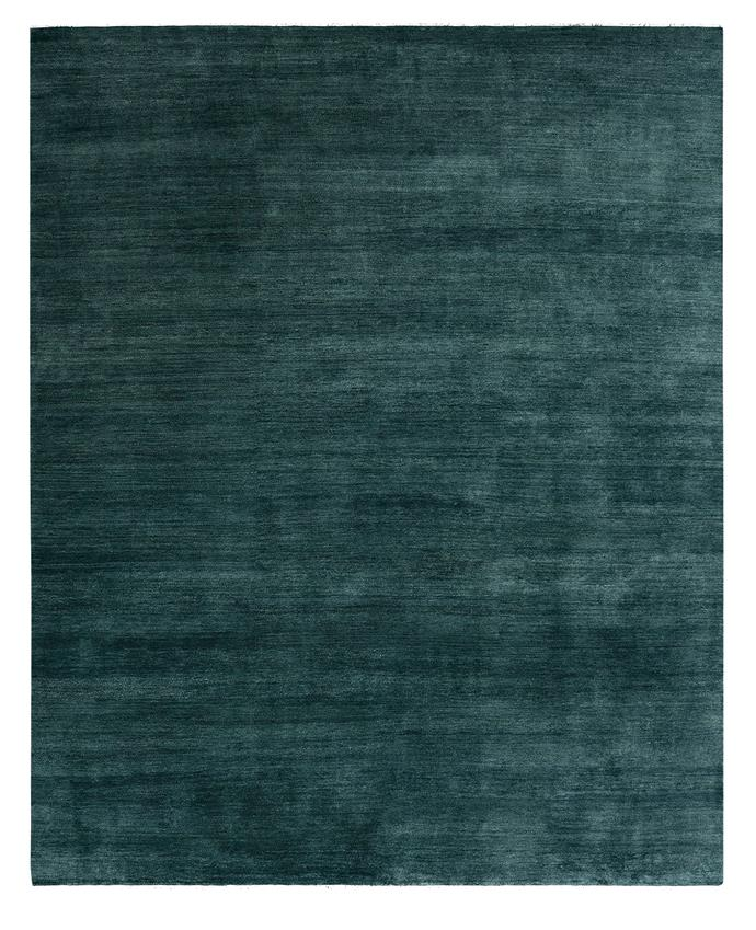 """<p>**Agra Knot rug in Kingfisher, starting from $4500 (240 x 300cm), available at [Armadillo & Co](https://armadillo-co.com/product/agra-knot/