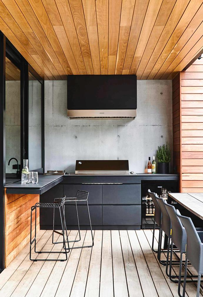"""This outdoor kitchen design by [Acre](http://www.acre.com.au/