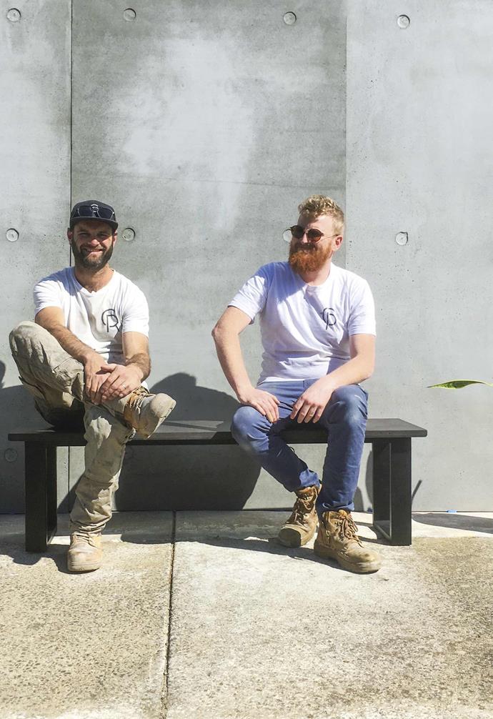 "Luke Reddie and Blake Robertson of [Concrete Republic](https://www.concreterepublic.com.au/|target=""_blank""|rel=""nofollow"")."