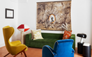 An antique abode filled with colourful contemporary art