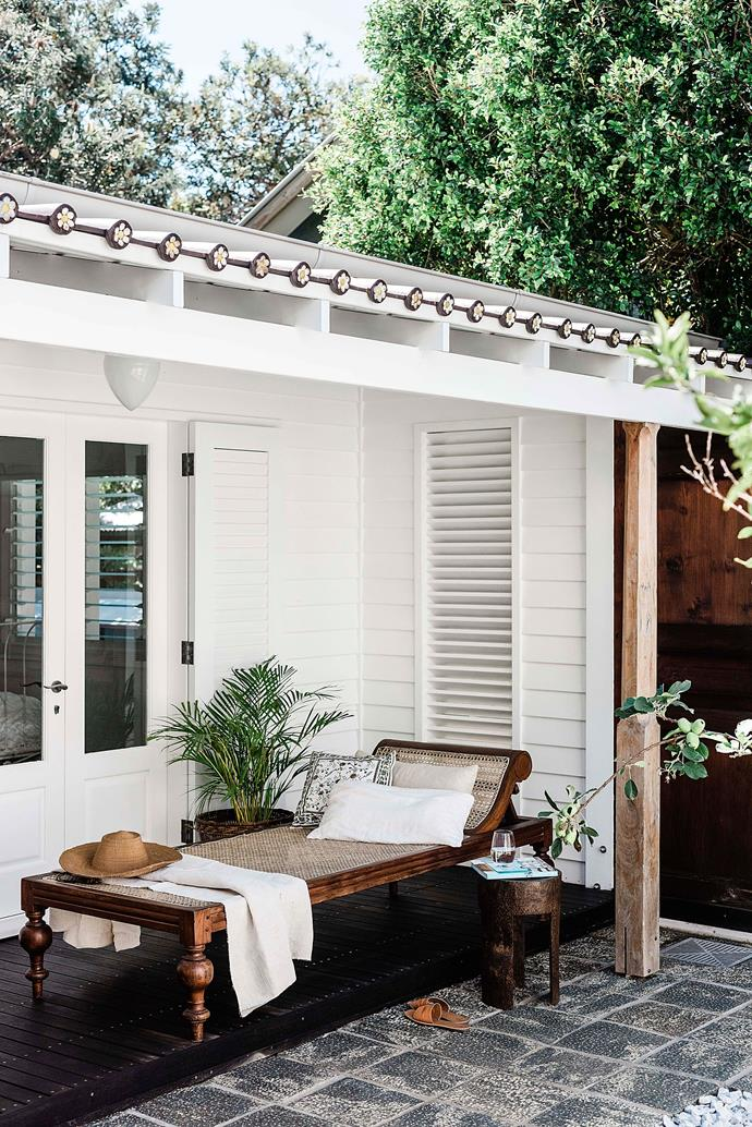 The frangipani roof tiles were a labour of love.