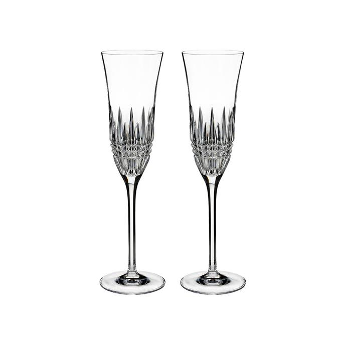 "**Waterford 'Lismore Diamond Essence' flute pair, $229, [Myer](https://www.myer.com.au/p/waterford-lismore-diamond-essence-flute-pair|target=""_blank""