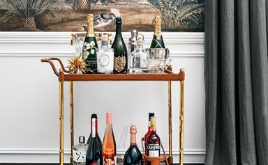 Bar cart 101: dress up your drinks trolley with these essentials