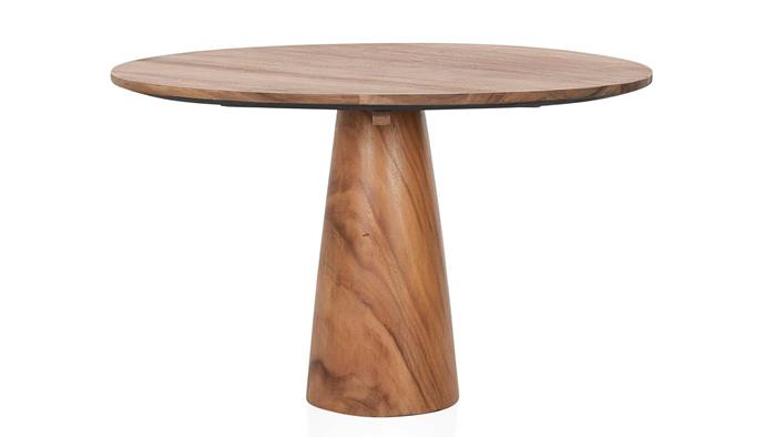 "**Baccarat Round Dining Table, $1995, [Coco Republic](https://www.cocorepublic.com.au/baccarat-round-dining-table|target=""_blank""