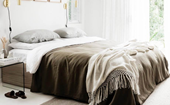 The best linen sheets and bedding to shop online