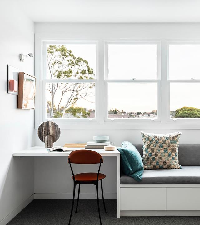 "This [gracious Victorian terrace in inner Sydney](https://www.homestolove.com.au/revived-victorian-terrace-21184|target=""_blank"") makes an illuminating move into a brighter, more inclusive way of living. Photographer: Tom Ferguson 