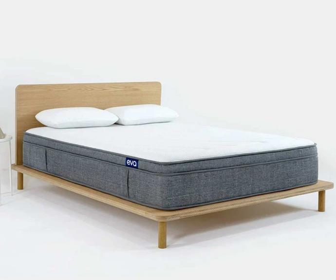 "**The Eva mattress, $900 (queen), [Eva](https://go.linkby.com/INZMJFZY|target=""_blank""