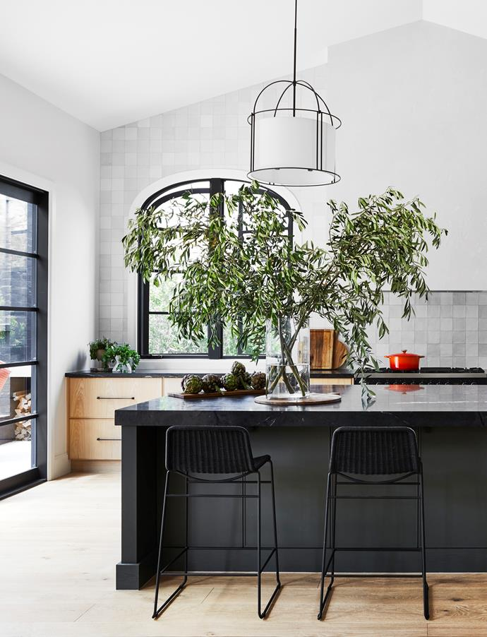A 'European farmhouse aesthetic' was what Lucy and Steve Cahill had in mind for their whole-home renovation on Victoria's Mornington Peninsula. And their new kitchen – the centrepiece of the revamped home – encapsulates their vision, brought into being by interior designer Kate Walker, principal of KWD.