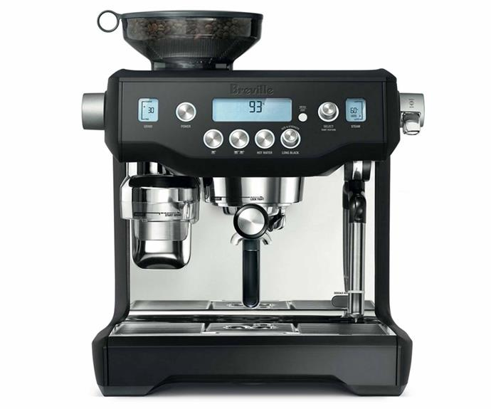 "**The Oracle coffee machine, $2999, [Breville](https://www.breville.com/au/en/products/espresso/bes980.html|target=""_blank""