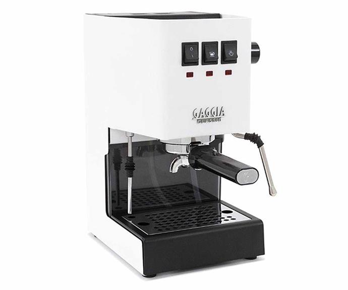 "**Gaggia Classic Pro Coffee Machine, $689-$799, [Alternative Brewing](https://alternativebrewing.com.au/product/gaggia-classic-coffee-machine/|target=""_blank""