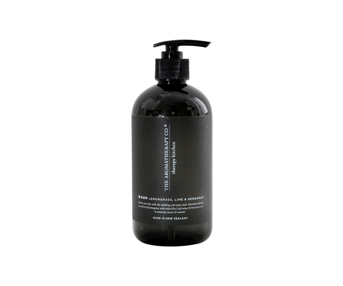 """Therapy is the name of this kitchen sink hand wash and rightly so. With a scent that won't interfere with your culinary scents, the Aromatherapy wash will rectify all ailments, from onion hands to raw chicken fingers. <br><br> The Aromatherapy Company Therapy Kitchen Hand Wash Lemongrass Lime & Bergamot, $24.95, [Myer](https://www.myer.com.au/p/the-aromatherapy-company-therapy-kitchen-hand-wash-lemongrass-lime-bergamot