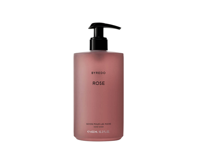 """Every now and then we just want a little luxury in our life. If you're feeling a little lacklustre and 'bleh', then try adding this luxe Rose scented hand wash to your bathroom routine and we guarantee you'll feel like the world's your oyster. Because Byredo.  <br><br> BYREDO Rose Hand Wash, $68, [Mecca](https://www.mecca.com.au/byredo/rose-hand-wash/I-028900.html
