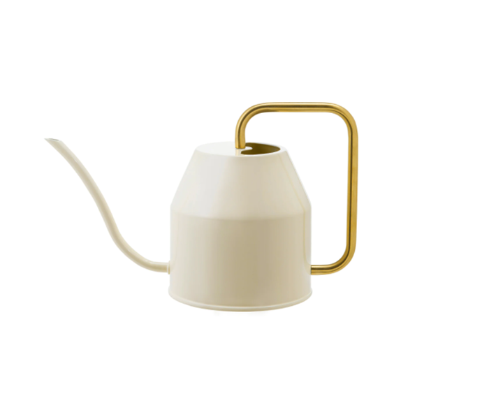 """**Vattenkrasse watering can** in ivory/gold-colour, $13, [Ikea](https://www.ikea.com/au/en/p/vattenkrasse-watering-can-ivory-gold-colour-90394154/ target=""""_blank"""" rel=""""nofollow"""").  <br><br> If you struggle to remember to water your plants, this delightful little can will be a handy reminder. The elegantly designed watering can will make your plants look just as good."""
