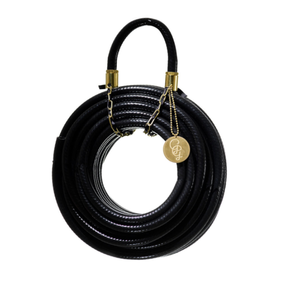 """**Garden Glory Garden Hose** - 20 Meters Long in Black Swan, $200, [Amara](https://www.amara.com/au/products/garden-hose-20-meters-long-black-swan target=""""_blank"""" rel=""""nofollow"""").  <br><br> For sprinkling, but make it stylish. This striking hose is the garden accessory that will make you look forward to watering. Available in a range of colours, we love the dramatic subtly of this jet black hose paired with gold hardware."""