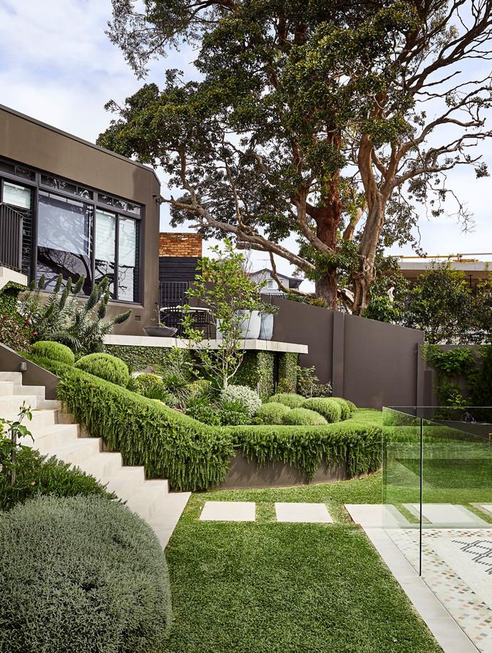 The expansive gardens were a massive drawcard for the clients. Site Design was responsible for the landscape design and Urban Jungle Landscapes for the implementation and ongoing maintenance.