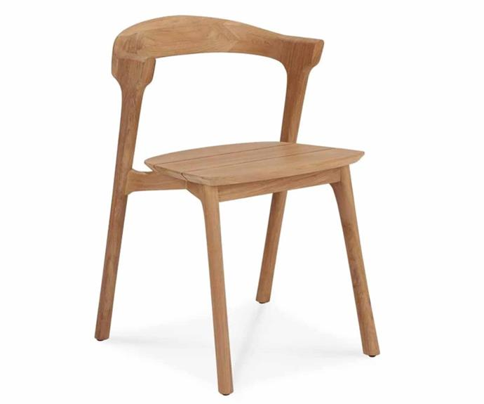 """**Ethnicraft Outdoor Bok Dining Chair, POA, [GlobeWest](https://www.globewest.com.au/browse/ethnicraft-outdoor-bok-dining-chair