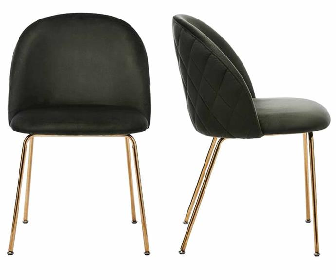 """**Home Republic Arlo Olive Gold Dining Chair, $379.99/set of 2, [Adairs](https://www.adairs.com.au/furniture/dining-chairs--counter-stools/home-republic/arlo-olive-gold-dining-chair-set-of-2/