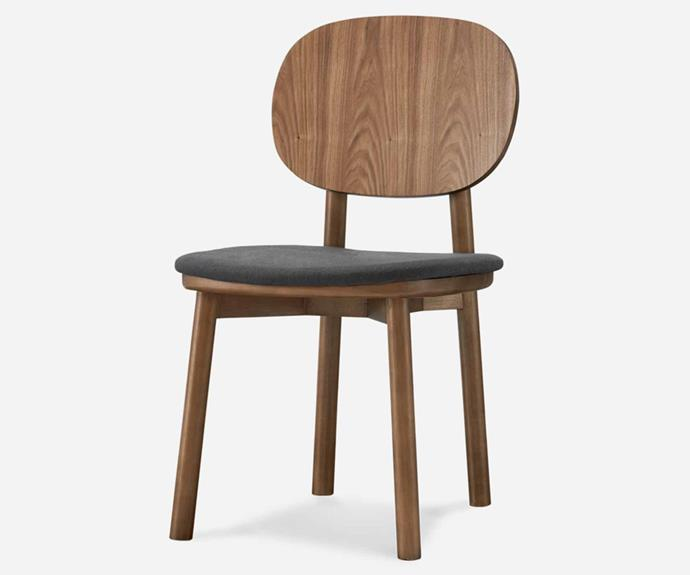 """**Strato Chair in Walnut, $558/set of 2, [Castlery](https://www.castlery.com/au/products/strato-chair-walnut