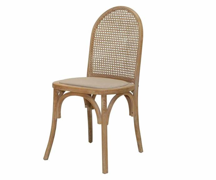 """**Brownsea Rattan Dining Chair, $499/set of 2, [Interiors Online](https://interiorsonline.com.au/products/brownsea-rattan-dining-chair-pair