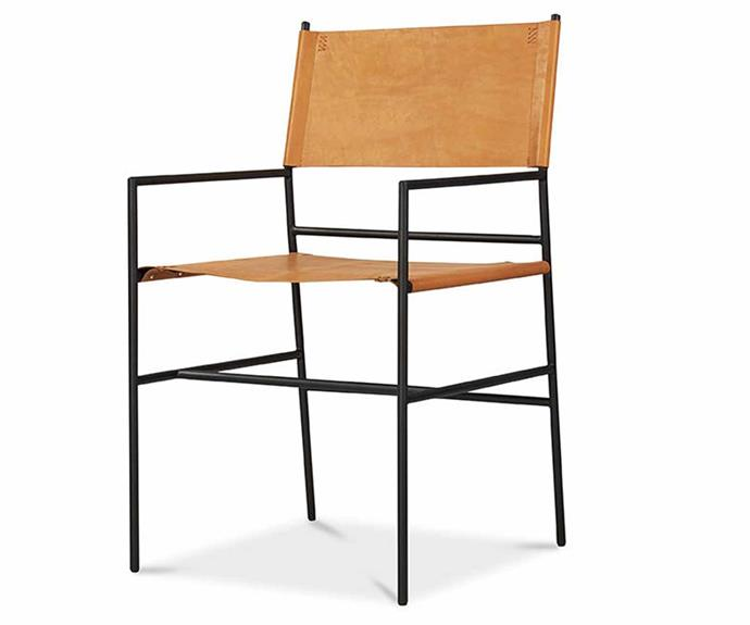 """**United Strangers New Jack Dining Chair, $399, [Kogan](https://www.kogan.com/au/buy/matt-blatt-united-strangers-new-jack-dining-chair-chestnut-brown-leather-matt-blatt/