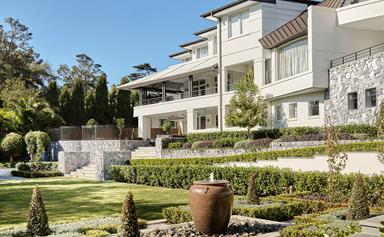 A glamorous Greg Natale designed home with art deco touches