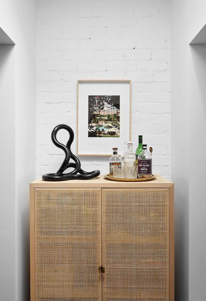 "**Nook** A vintage Tangle sculpture and Caroline McCredie photograph share space with another [Ikea](https://www.ikea.com/au/en/|target=""_blank""