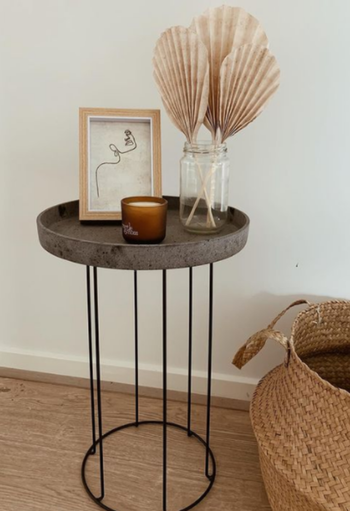 """**Pot stand turned table** <br><Br> With a bit of ingenuity, [@kateschmdt](https://www.instagram.com/kateschmdt/