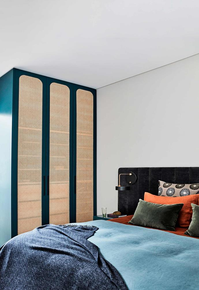 "**Main bedroom** The custom wardrobe by [Leading Edge Kitchens](https://www.lekitchens.com.au/|target=""_blank""