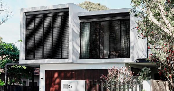 Interior designer Emma Buchan's strikingly modern family home