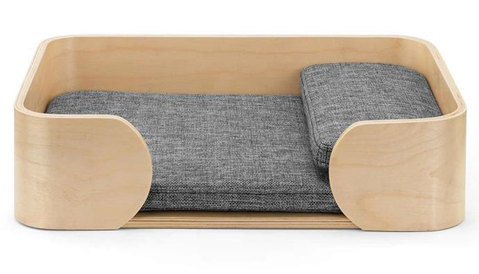 """**Pawever Pets Scandi Pet Bed with Cushion, $59.99, [Kogan](https://www.kogan.com/au/buy/pawever-pets-scandi-pet-bed-cushion/